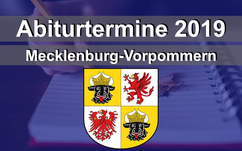 Abitur Mecklenburg Vorpommern